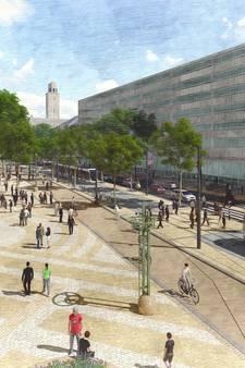 Zo blits ziet de Coolsingel er uit in de zomer van 2021