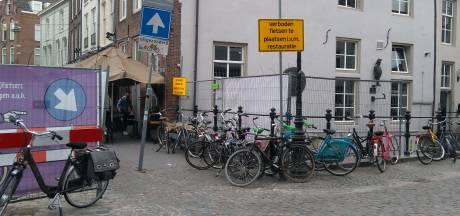 Straatbeeld: Verboden fietsen te plaatsen