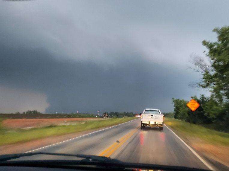 In de buurt van Joplin (Missouri) vielen zeker drie doden door het noodweer.