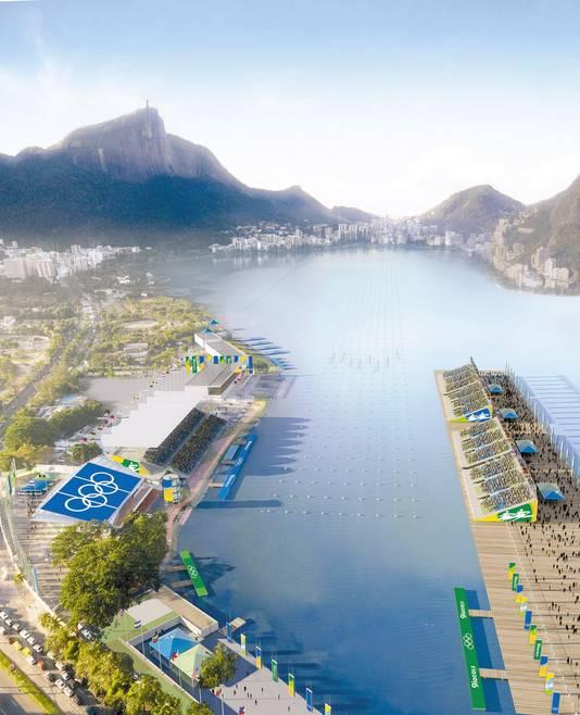 C'est précisément ce lac Rodrigo de Freitas qui doit acceuillir des épreuves lors des Jeux Olympiques de Rio, en 2016.