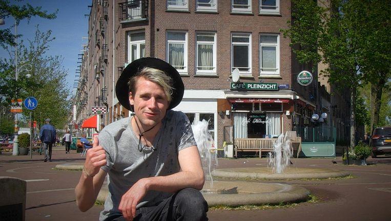 Marnix Haak sluit zichzelf een jaar lang op in de Javastraat in Amsterdam-Oost Beeld Eigen foto