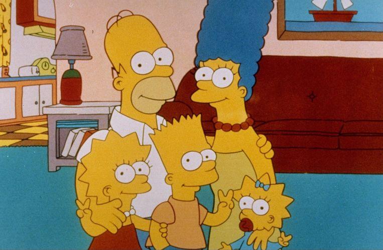 The Simpsons Beeld anp