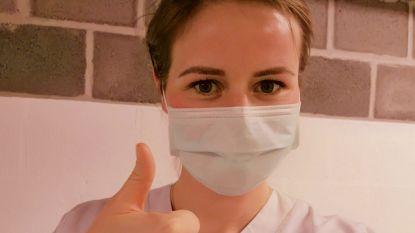 Pas nog op de schoolbanken, nu in de frontlinie tegen corona: studenten verpleegkunde getuigen over hun stage  op de spoedafdeling