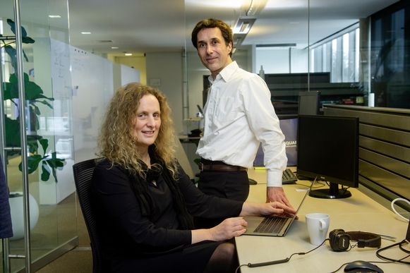 Heidi Rakels en haar man Eric Lafortune hebben een IT-business.