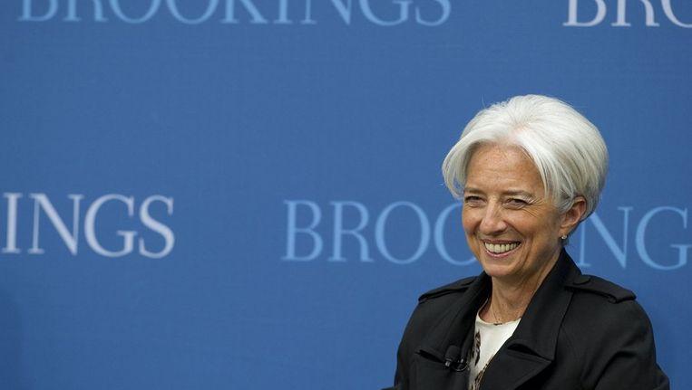 Christine Lagarde, baas van het IMF Beeld afp