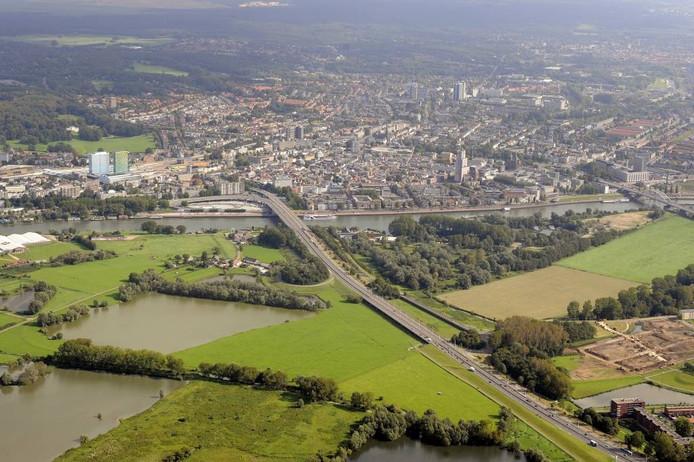 Meinerswijk en Stadsblokken vanuit de lucht.