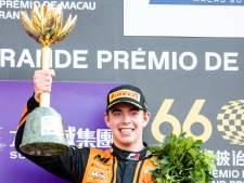 Verschoor (18) in voetsporen Senna en Schumacher met zege in Macau