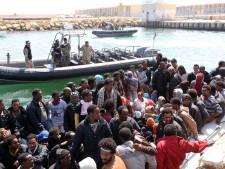 Grote reddingsoperatie gaande op Middellandse Zee