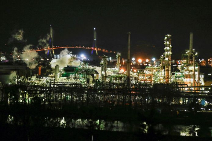 La raffinerie Total photographiée en décembre 2018.