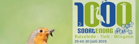 De 1.000-soortendag komt naar Tielt, Ruiselede en Wingene