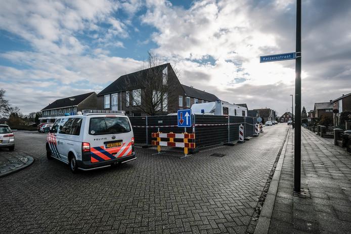 De schietpartij vond plaats op de Keizerdwarsstraat in Winterswijk.