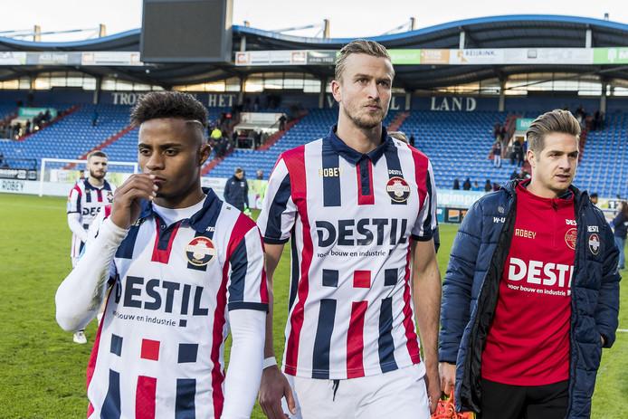 Diego Palacios, Thomas Meissner en Jordens Peters.
