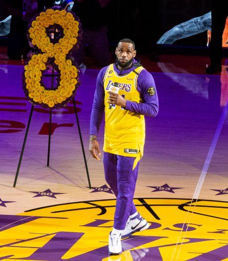 LeBron James promet de perpétuer l'héritage de Kobe Bryant