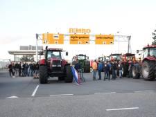 Opnieuw actie van boeren bij Jumbo in Woerden