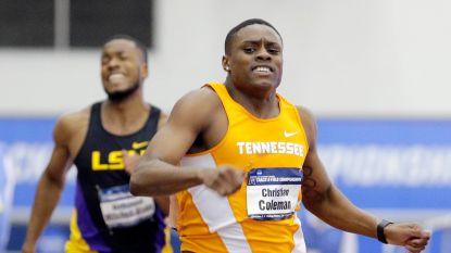 Christian Coleman tekent met 9.82 voor snelste 100 meter van het jaar