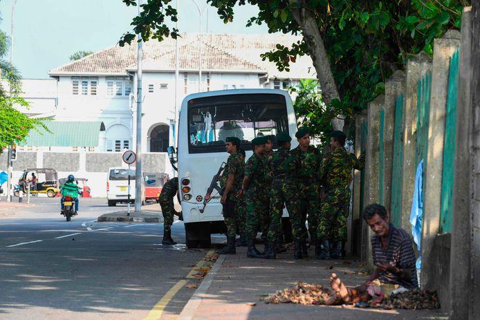 Special Task Force voor de Welikada prison in Colombo