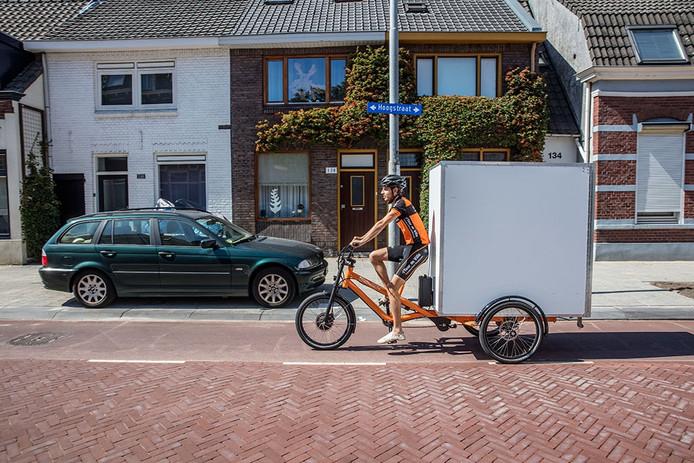 Fietskoeriers Tour de Ville in Eindhoven