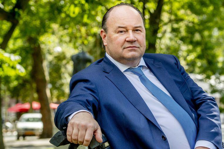 Henk Otten, voorheen senator voor Forum voor Democratie. Beeld ANP