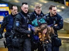 Tweede protestdag van Greenpeace op Schiphol verliep rustig