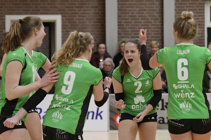 De meiden van Alterno moeten hun punten komend seizoen vieren in de topdivisie.