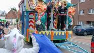 Veertigste carnavalsstoet trekt door de straten
