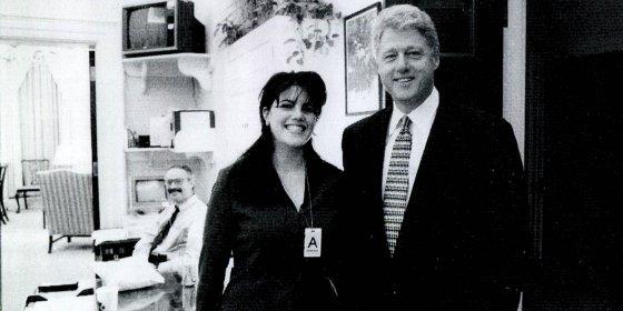 Het is bevreemdend om te horen hoe alleen Monica Lewinsky ervoor stond