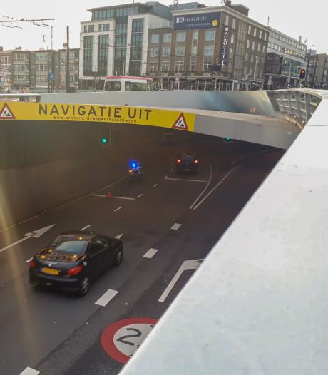 Opnieuw aanrijding in Willemstunnel in centrum Arnhem