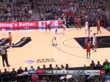 Raptors et Spurs à l'arrêt: le premier hommage de la NBA à son champion