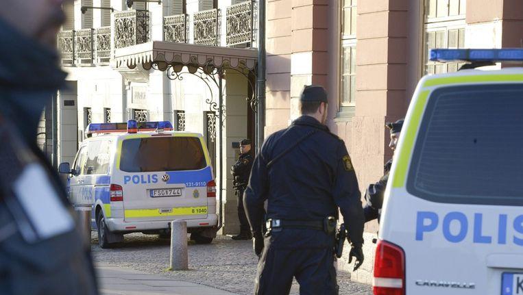 De Zweedse politie. Beeld ANP