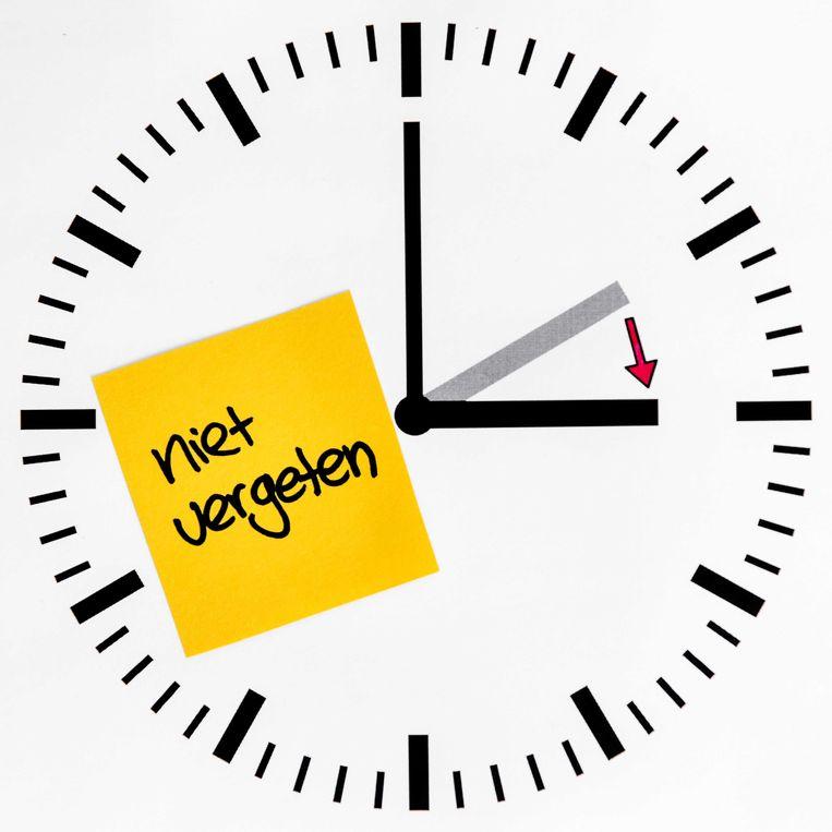In de nacht van zaterdag op zondag 31 maart wordt de klok een uur vooruit gezet.