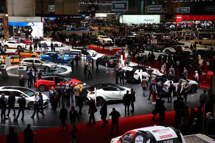 De Autosalon van Genève trok vorig jaar nog 600.000 bezoekers