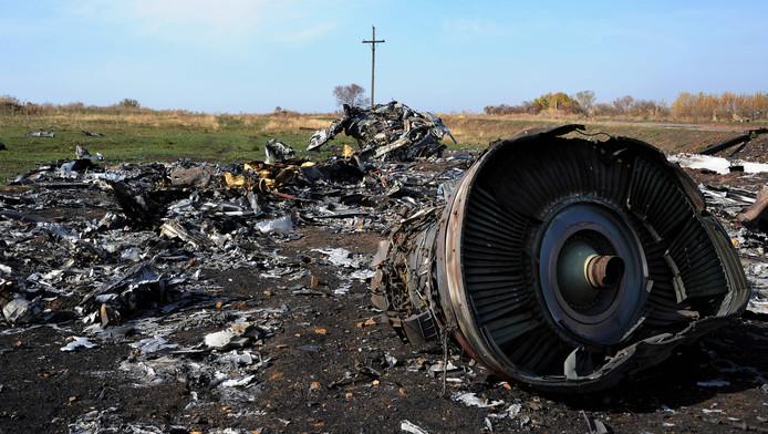 De ravage na de ramp met vlucht MH17.