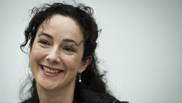 De politieke memoires van Femke Halsema staan beschreven in 'Pluche'. Beeld anp