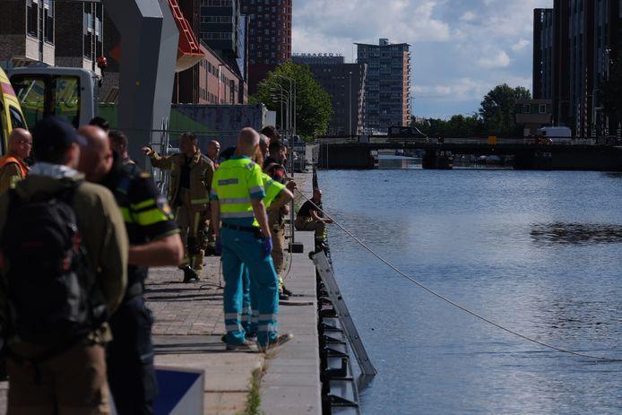 Het incident gebeurde op de Calandkade in Den Haag.