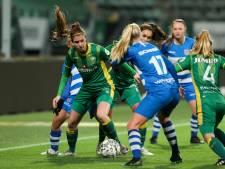 ADO-vrouwen nemen met ruime zege op PEC Zwolle een voorschot op de play-offs