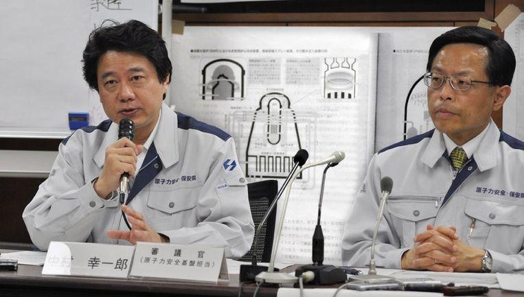 Veiligheidschef van Fukushima Koichiro Nakamura © AFP Beeld