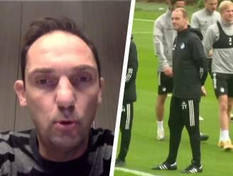 """De Condé """"compleet verrast"""" door vertrek Thorup, die al training gaf bij Kopenhagen: """"Tot nu hebben noch spelers, noch staf, noch ikzelf iets van Jess gehoord"""""""