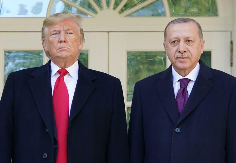 Trump ontvangt Erdogan op Witte Huis