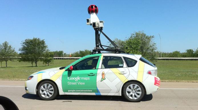 Een camera-auto van google streetview wordt straks ook voor heel andere dingen ingezet.