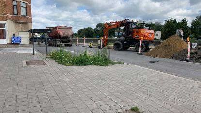 Werken op Brusselsesteenweg