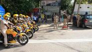 Politie betrapt 'nepdode' in India die lockdown wil omzeilen