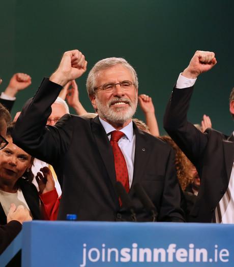 Noord-Ierse politicus Gerry Adams was 35 jaar lang het gezicht van Sinn Fein