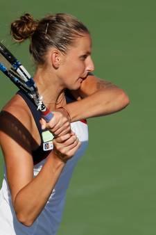 Pliskova heeft revanche genomen op Wozniacki