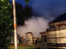 Chalet uitgebrand op woonwagenkamp bij Raalte