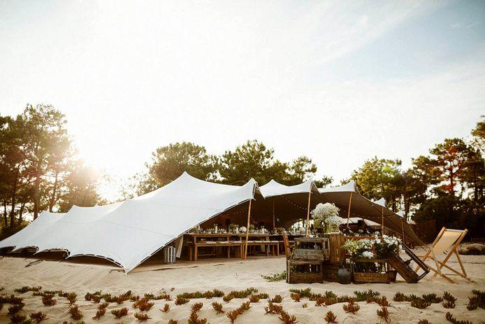 Organic Concept zorgt voor tenten en aankleding