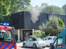 Brand in plafond sauna bij sportschool Nijmegen