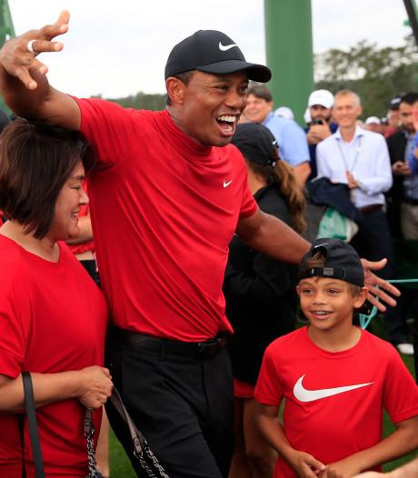 Nike haakt direct in op succes Tiger Woods