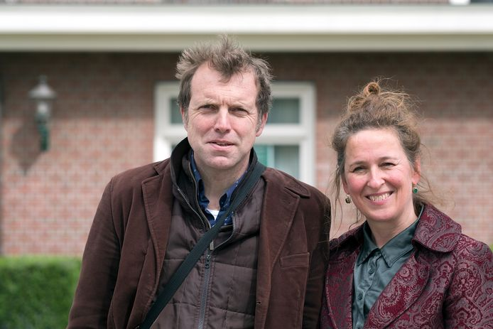 De huidige Dichter des Achterhoeks, Jack Weijkamp en Lucy Legeland. Foto: Jan van den Brink