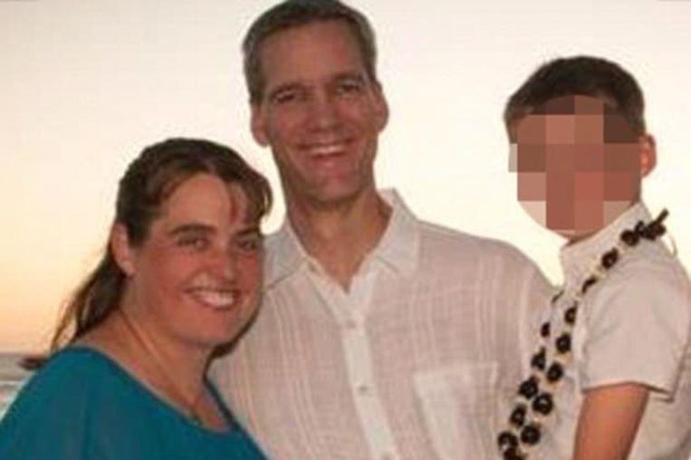 Het gezin Allwine op een foto van enkele jaren geleden.