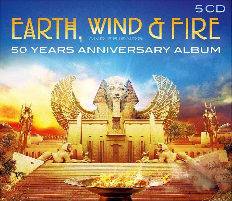 Earth, Wind & Fire, 50 Years Anniversary Album. Beeld